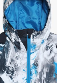 Quiksilver - MIS PRIN YOU  - Snowboard jacket - blue/white/mottled grey - 6