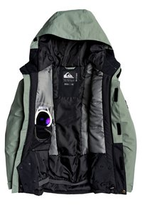 Quiksilver - MISSION - Snowboard jacket - agave green - 2