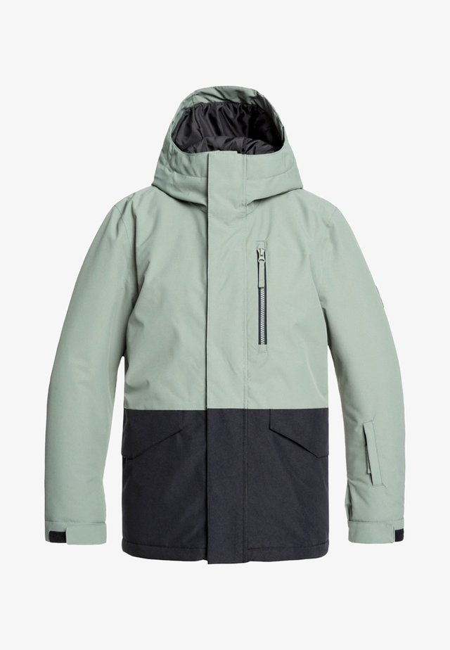 MISSION - Snowboardjas - agave green