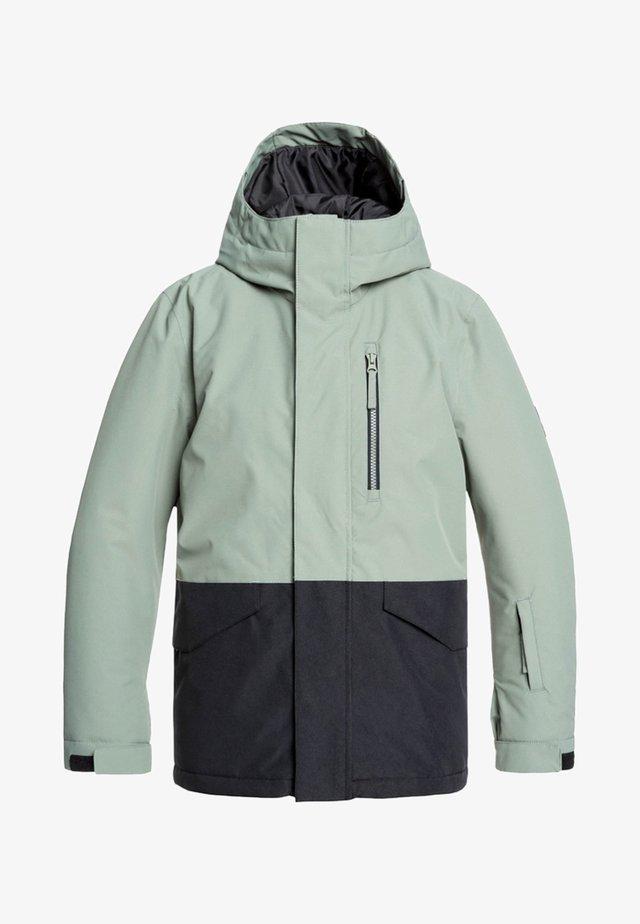 MISSION - Snowboardjacke - agave green