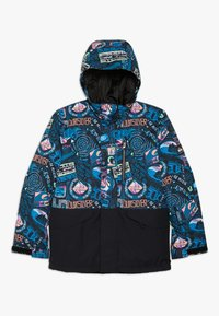 Quiksilver - MISS BLOC - Snowboardjacka - black bark to the moon - 0
