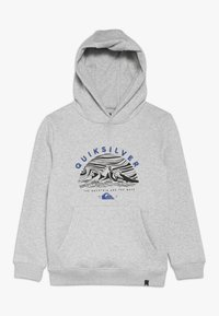Quiksilver - SNOW YOUTH HOOD - Huppari - mottled grey/black - 0