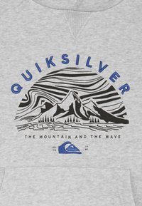 Quiksilver - SNOW YOUTH HOOD - Huppari - mottled grey/black - 3