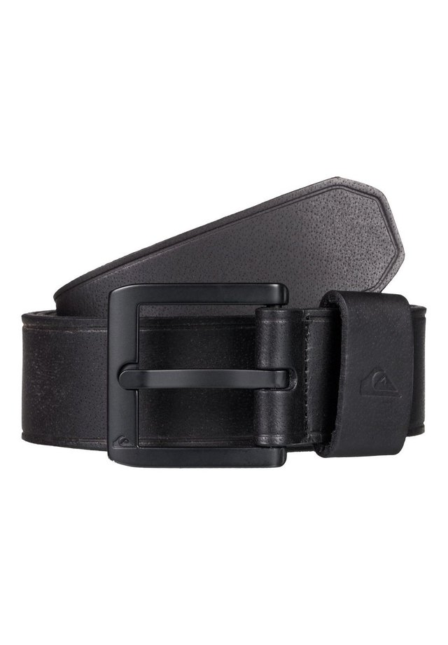 QUIKSILVER™ THE EVERYDAILY - LEATHER BELT EQYAA03889 - Belt - black