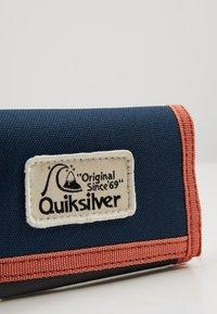 Quiksilver - THEEVERYDAILY - Portfel - blue/orange - 2