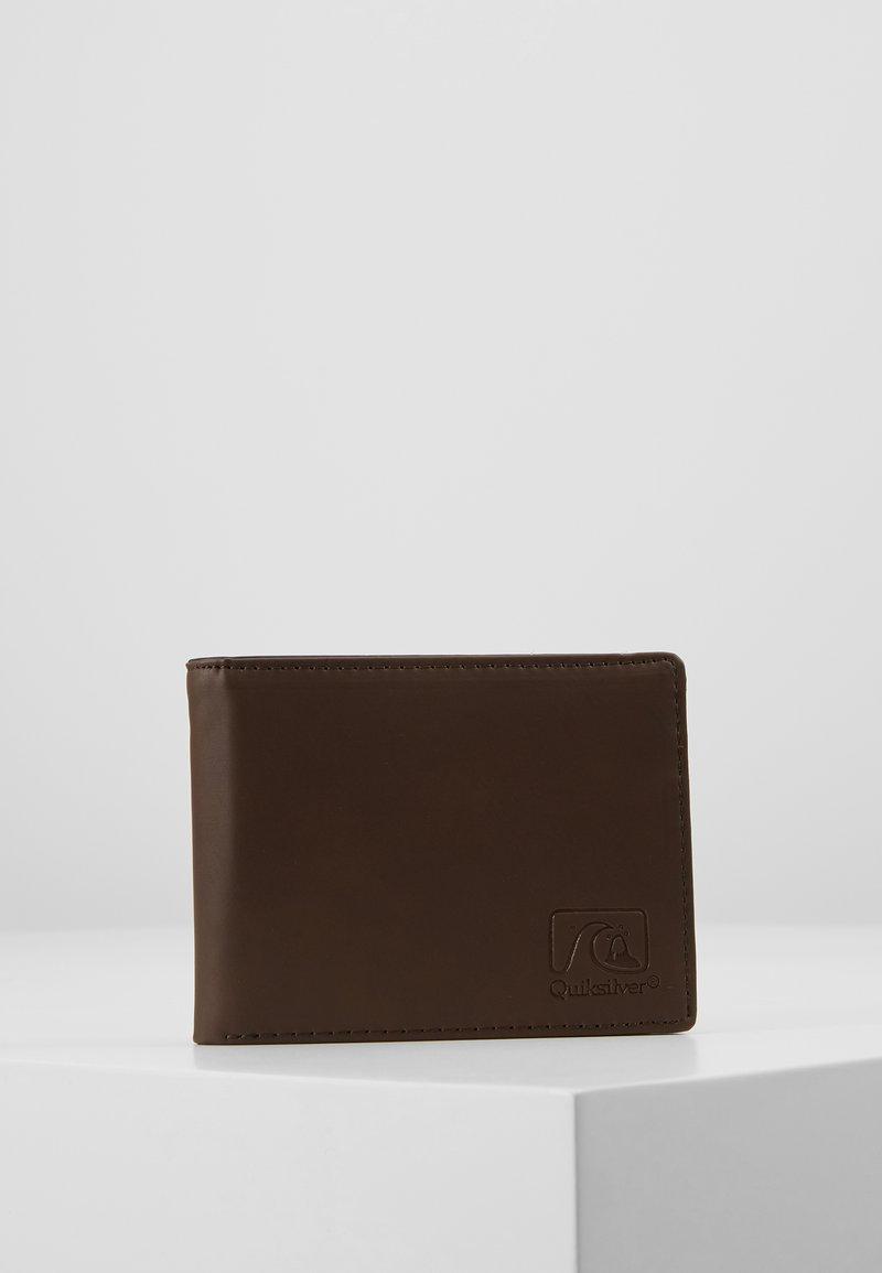 Quiksilver - SLIM VINTAGEIV - Wallet - chocolate brown