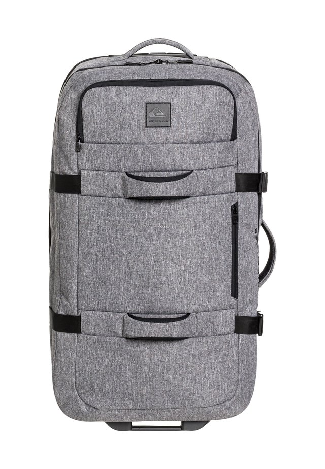 QUIKSILVER™ NEW REACH 100L - EXTRAGROSSER KOFFER MIT ROLLEN EQYBL - Wheeled suitcase - light grey heather