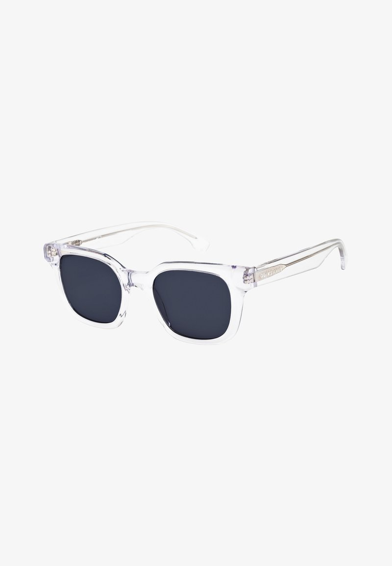 Quiksilver - WAY BACK - Sunglasses - shiny crystal clear/grey