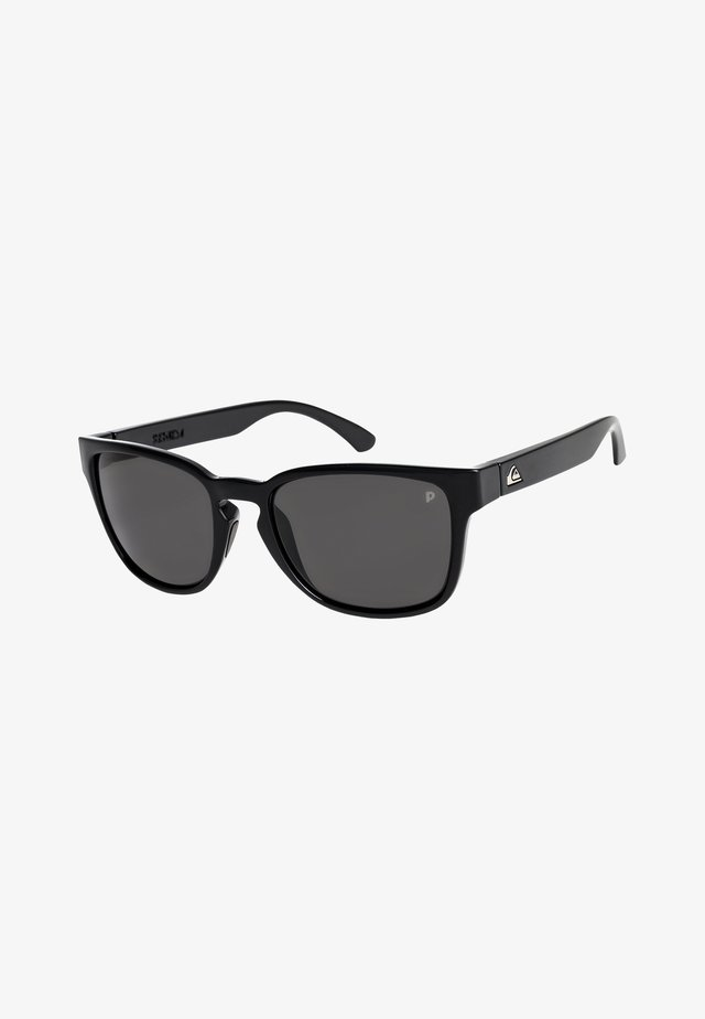 REKIEM  - Sunglasses - shiny black/polarized grey