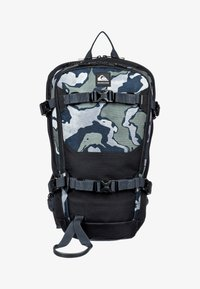 Quiksilver - Hiking rucksack - mottled anthracite - 0