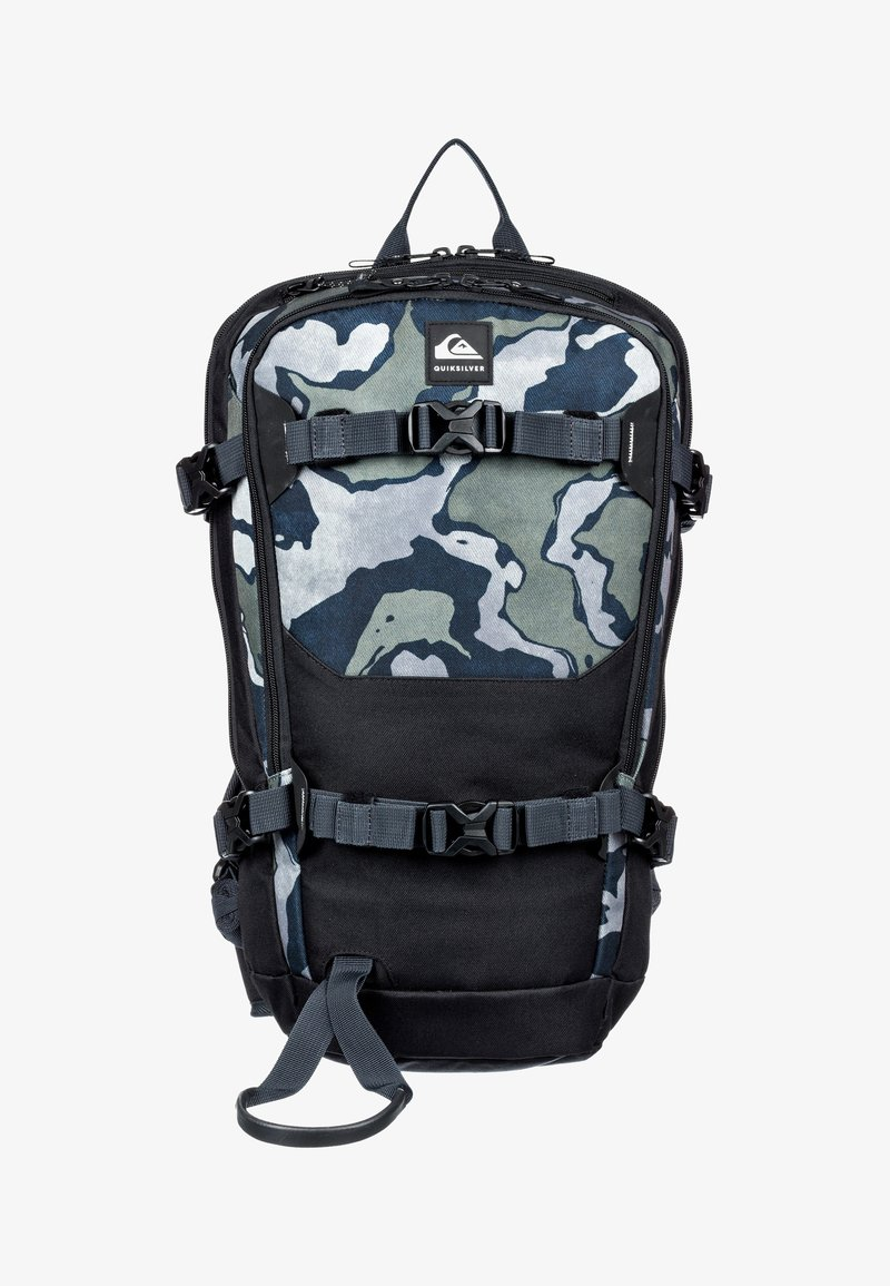 Quiksilver - Hiking rucksack - mottled anthracite