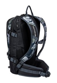 Quiksilver - Hiking rucksack - mottled anthracite - 1