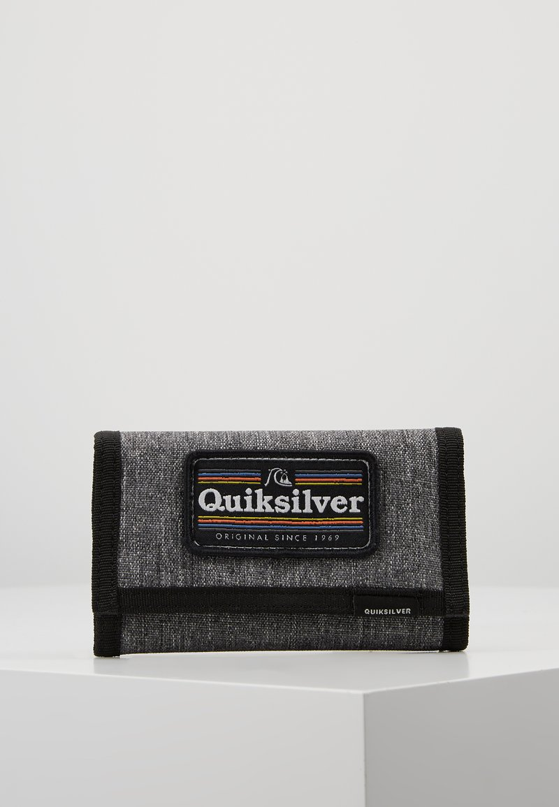 Quiksilver - THE EVERYDAILY PATCH YOUTH - Portefeuille - dark grey heather