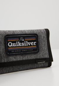 Quiksilver - THE EVERYDAILY PATCH YOUTH - Portefeuille - dark grey heather - 2
