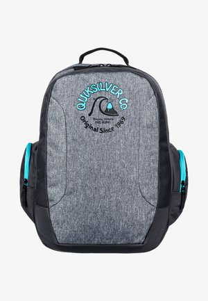 SCHOOLIE YOUTH - Schooltas - light grey heather
