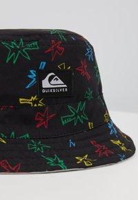 Quiksilver - TURN BURNER HATS - Klobouk - black - 2