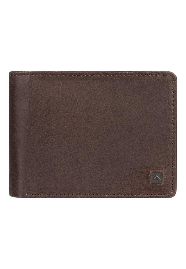 QUIKSILVER™ MACK X - ZWEIFACH FALTBARES LEDER-PORTEMONNAIE EQYAA - Wallet - chocolate brown