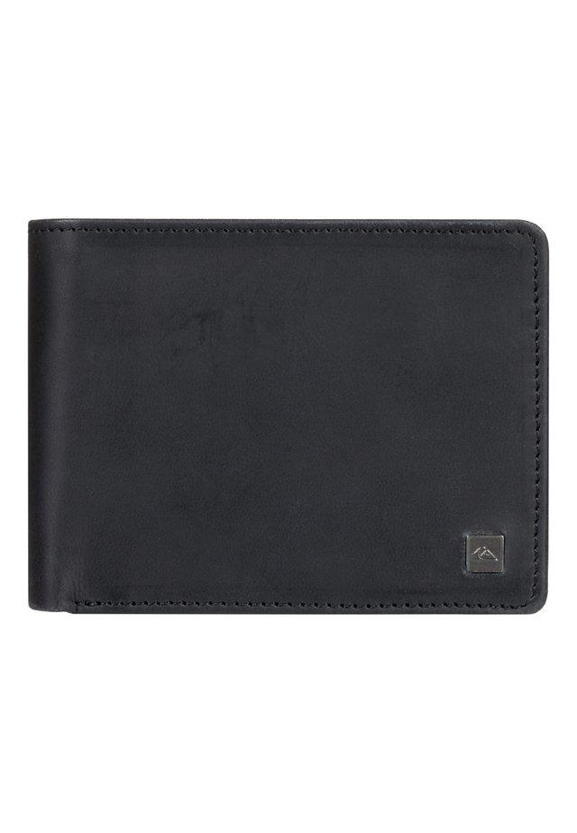 QUIKSILVER™ MACK X - ZWEIFACH FALTBARES LEDER-PORTEMONNAIE EQYAA - Wallet - black