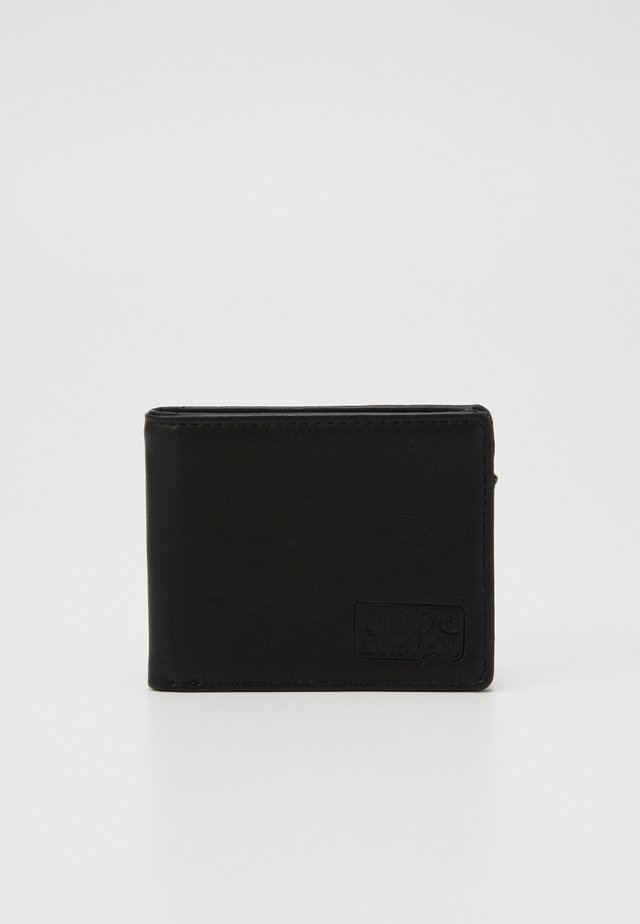 SLIM FOLDER - Plånbok - black