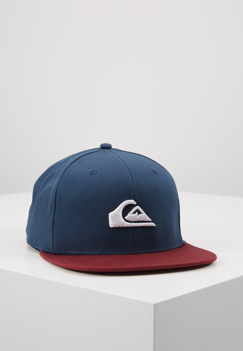 Quiksilver - CHOMPER - Cap - blue/bordeaux