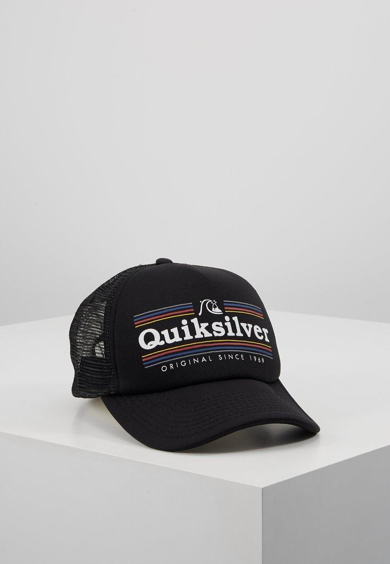 Quiksilver - JETTY CROCKER - Cap - black