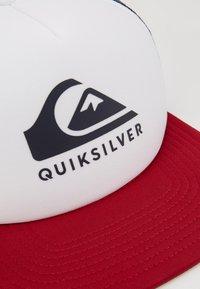 Quiksilver - FOAMSLAYER - Gorra - white - 2