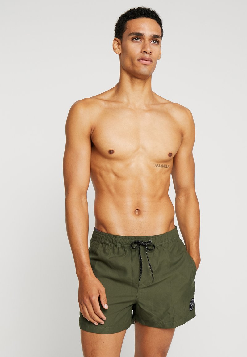 Quiksilver - EVERYDAY VOLLEY - Swimming shorts - khaki