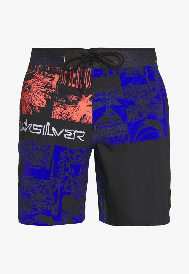 HIGHLINE RAVE WAVE - Shorts da mare - black