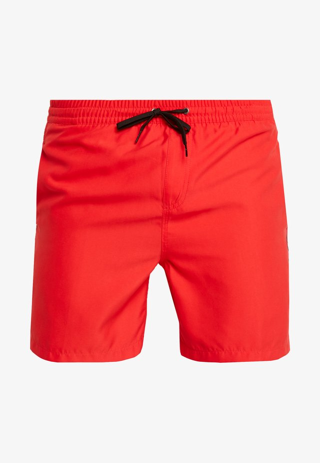 VOLLEY - Badeshorts - high risk red