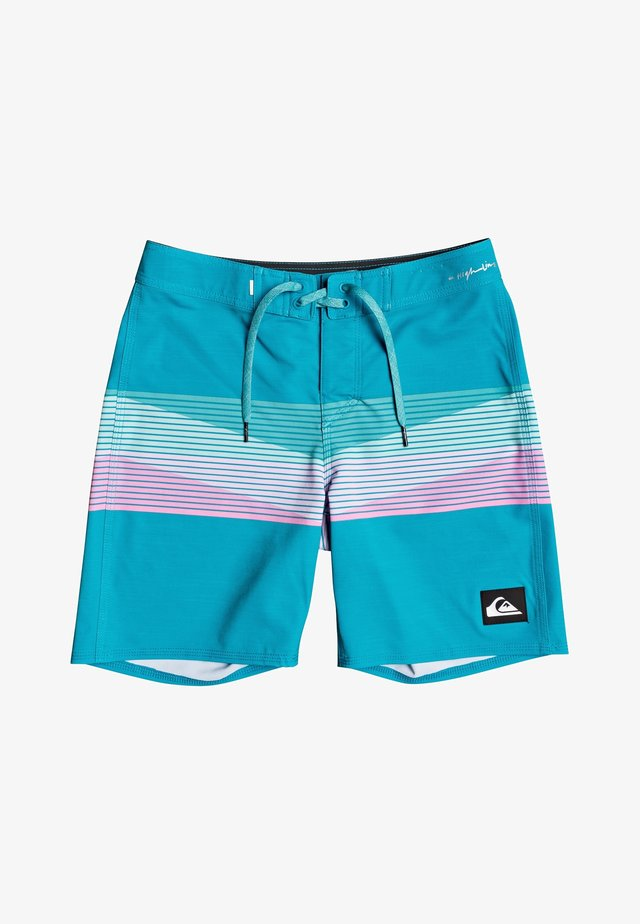 "HIGHLINE SEASONS 16"" - Swimming shorts - caribbean sea"