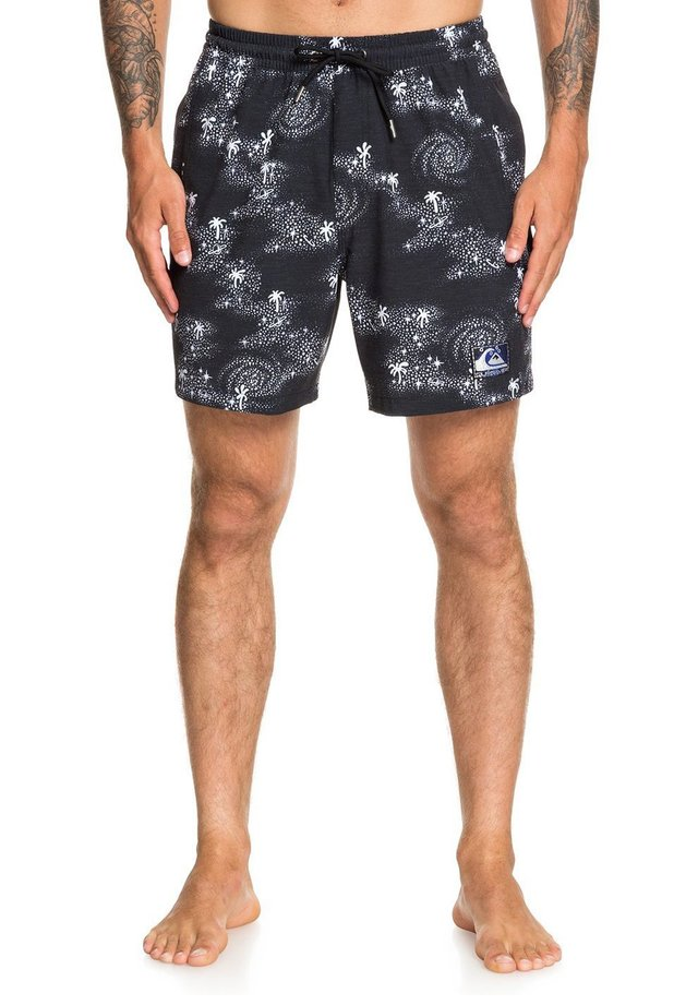 OUT THERE - Zwemshorts - black cosmic rip swim