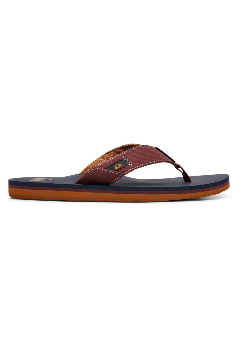 Quiksilver - MOLOKAI ABYSS - T-bar sandals - red/blue/red