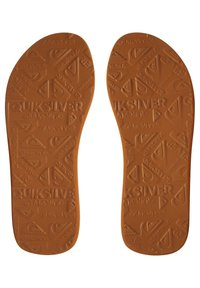 Quiksilver - MOLOKAI ABYSS - T-bar sandals - red/blue/red - 2
