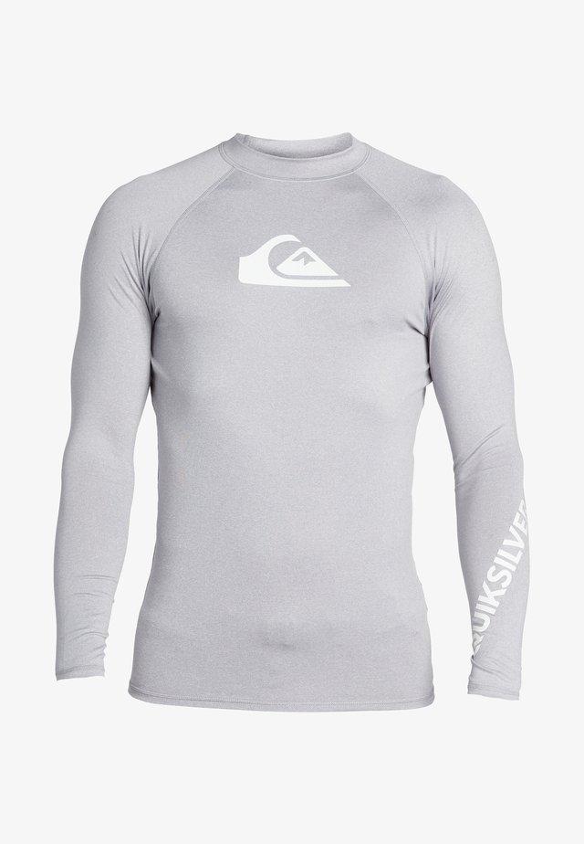 MIT UPF 50 FÜR MÄN - Surfshirt - sleet heather