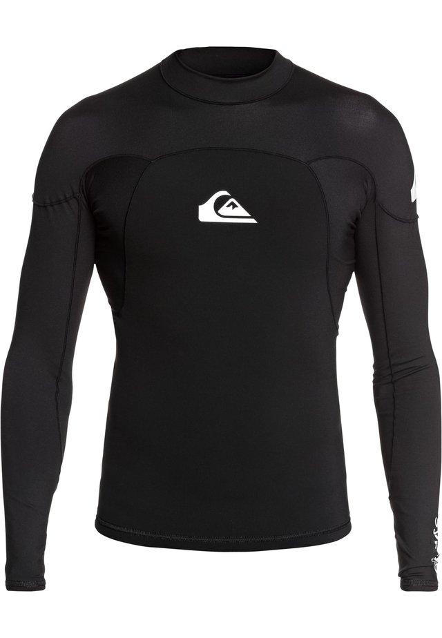 QUIKSILVER™ 1MM SYNCRO - LANGÄRMLIGES NEOPREN-SURF-TOP FÜR MÄNNE - Surfshirt - black/white
