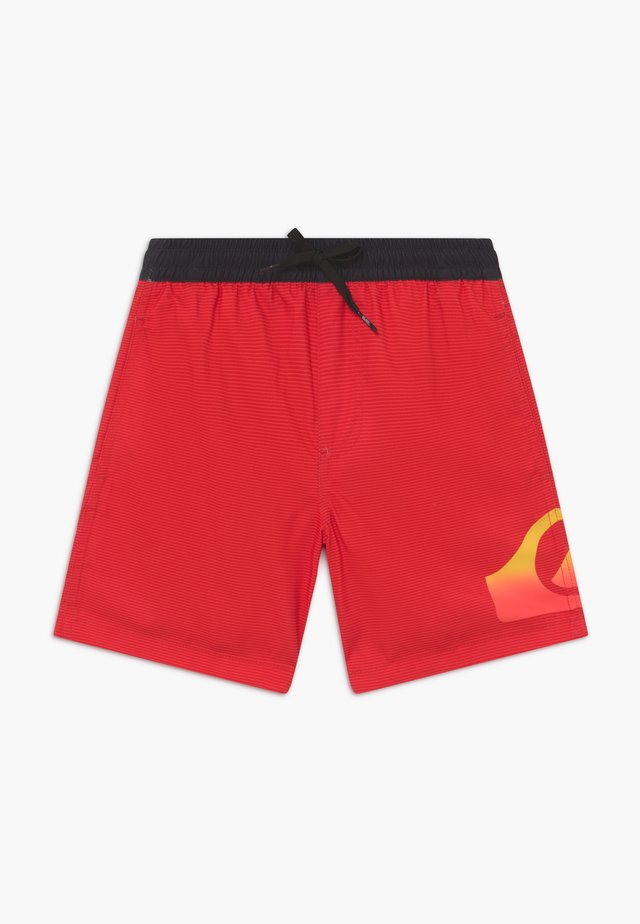 DREDGE VOLLEY YOUTH  - Shorts da mare - high risk red