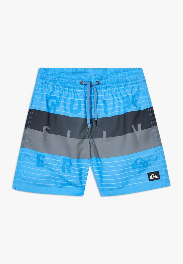 WORD BLOCK VOLLEY YOUTH - Shorts da mare - blue nights