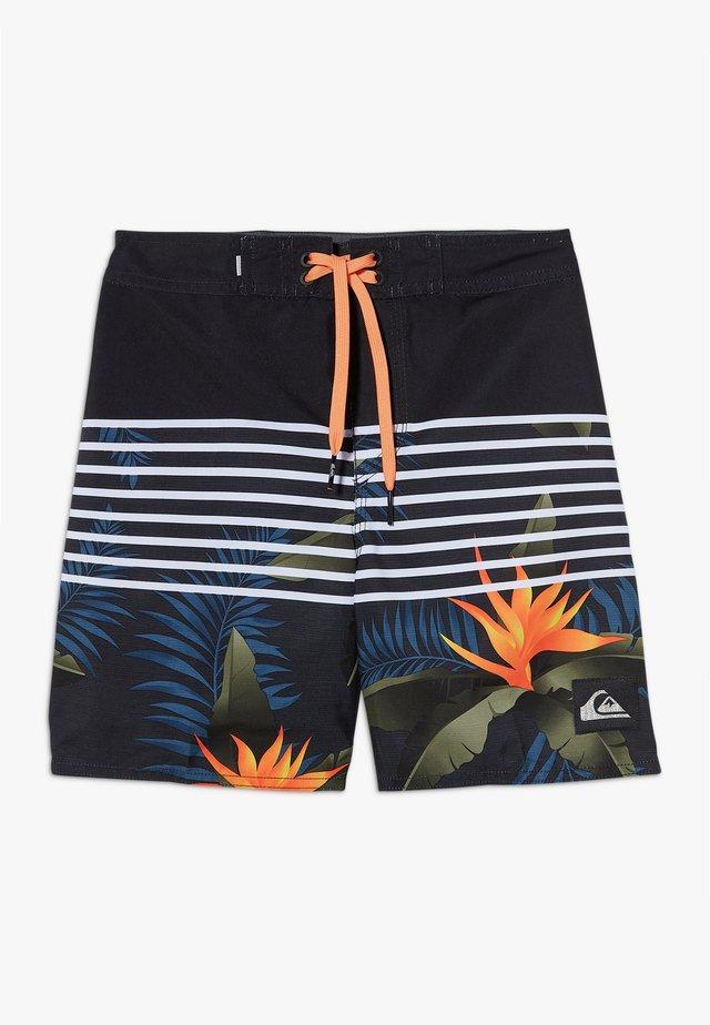 EVERYDAY LIGHTNING - Swimming shorts - black vacancy youth