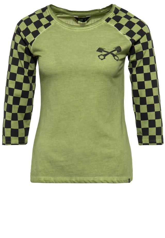 MIT RACING FL - T-shirt à manches longues - grün