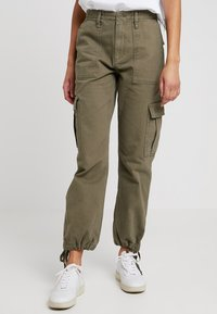 BDG Urban Outfitters - AUTHENTIC CARGO PANT - Trousers - khaki - 0