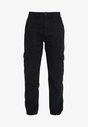 AUTHENTIC CARGO PANT - Bukse - black