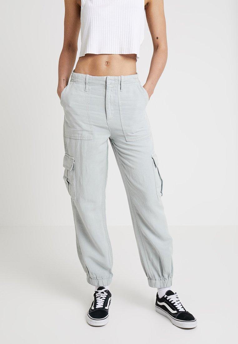 BDG Urban Outfitters - CUFFED TROUSER - Pantalon classique - light grey