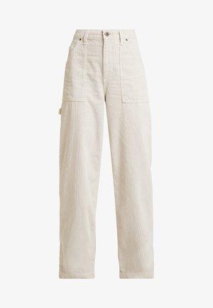 CALLIE UTILITY PANT - Trousers - ecru