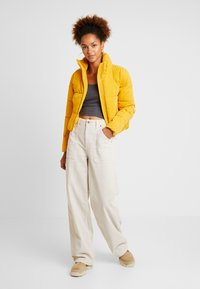 BDG Urban Outfitters - CALLIE UTILITY PANT - Trousers - ecru - 1