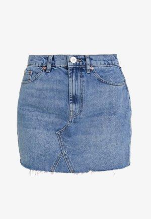 AUSTIN SKIRT - A-line skirt - blue denim