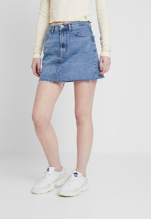 AUSTIN SKIRT - A-line skjørt - blue denim