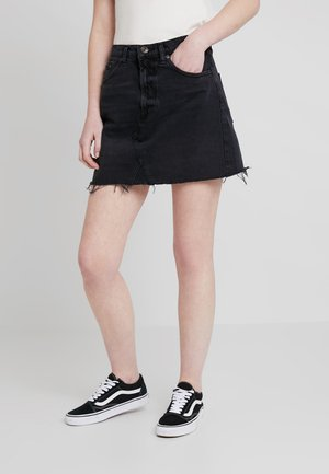 AUSTIN SKIRT - Áčková sukně - wash black