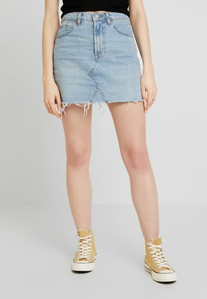 SUMMER VINTAGE AUSTIN NOTCH SKIRT - Gonna di jeans - blue denim