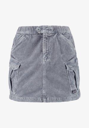 UTLITY SKIRT - Minifalda - cool grey