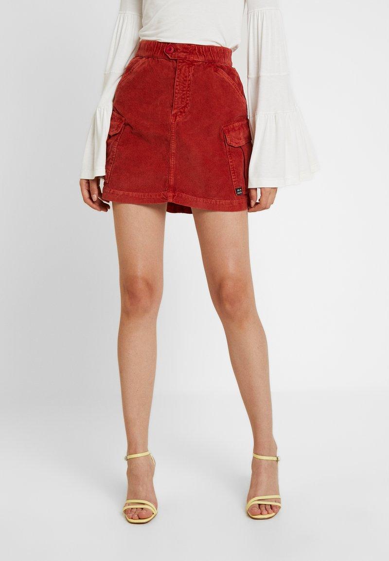 BDG Urban Outfitters - UTLITY SKIRT - Minifalda - clay